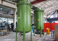 China Carbon Steel Lining PPS Material Back Wasking Filter For High Purity Manganous Sulfate Filtration company