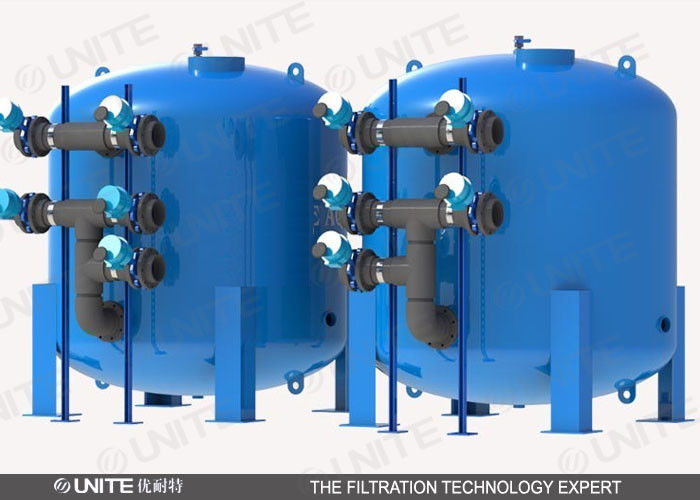 Industrial Filtration Equipment : Stainless steel liquid or oil industrial water filtration