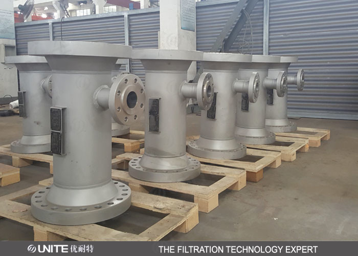 CE PTFE lining Static inline mixer for corrosive liquid mixing