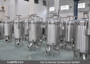 Stainless Steel Single Bag Filter Housing,Water Filter Housing For Waste Water