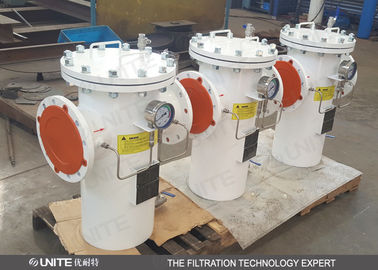 Industrial Basket Type Strainers For Liquid Filtration