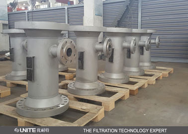 SV Type Inline Static Mixer For Mixing Gases in a continuous process
